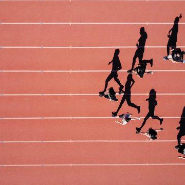 Zadrapanie podczas biegania