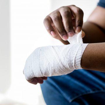 Zmiana bandaża